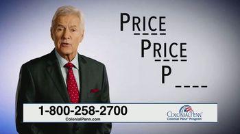 Colonial Penn TV Spot, 'Pick Your Due Date' Feat. Alex Trebek