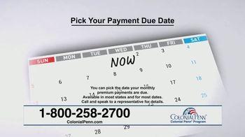 Colonial Penn TV Spot, 'Pick Your Due Date' Feat. Alex Trebek - Thumbnail 6