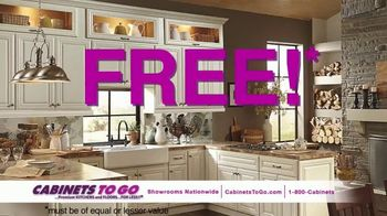 Cabinets To Go TV Spot, 'May Buy One, Get One Free' Feat. Ty Pennington