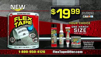 Flex Tape Clear TV Spot, 'See Right Through' - Thumbnail 9