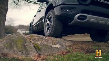 Ram Trucks TV Spot, 'History Channel: Stories of Horsepower' - Thumbnail 7