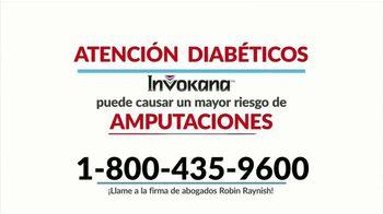 Robin Raynish Law TV Spot, 'Amputaciones causadas por Invokana' [Spanish] - Thumbnail 1