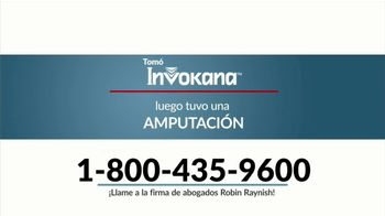 Robin Raynish Law TV Spot, 'Amputaciones causadas por Invokana' [Spanish] - Thumbnail 2