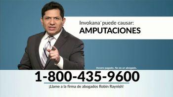 Robin Raynish Law TV Spot, 'Amputaciones causadas por Invokana' [Spanish] - Thumbnail 4