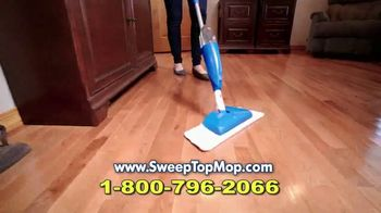 Sweep Top Mop TV Spot, 'Stop That Cleaning Nightmare' - Thumbnail 8