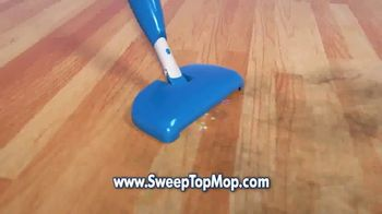 Sweep Top Mop TV Spot, 'Stop That Cleaning Nightmare' - Thumbnail 2