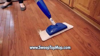 Sweep Top Mop TV Spot, 'Stop That Cleaning Nightmare' - Thumbnail 3