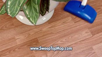 Sweep Top Mop TV Spot, 'Stop That Cleaning Nightmare' - Thumbnail 4