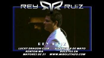 Rey Ruiz TV Spot, '2018 Seattle Lucky Dragon Club' [Spanish] - Thumbnail 2
