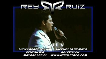 Rey Ruiz TV Spot, '2018 Seattle Lucky Dragon Club' [Spanish] - Thumbnail 3