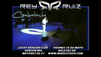Rey Ruiz TV Spot, '2018 Seattle Lucky Dragon Club' [Spanish] - Thumbnail 6