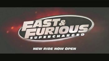 Universal Orlando Resort TV Spot, 'Fast & Furious Supercharged: Now Open' - Thumbnail 9