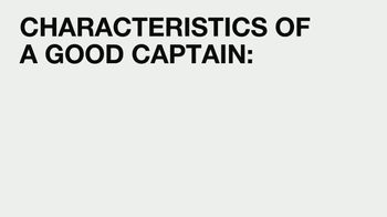 Captain Morgan TV Spot, 'VICELAND: Characteristics of a Good Captain' - Thumbnail 1
