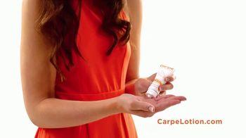Carpe Antiperspirant Lotion TV Spot, 'Sweaty Hands and Feet' - Thumbnail 5