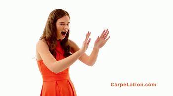 Carpe Antiperspirant Lotion TV Spot, 'Sweaty Hands and Feet' - Thumbnail 6