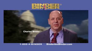 Binder and Binder TV Spot, 'We Will Deal With the Government'