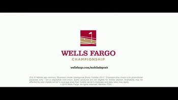 Wells Fargo Championship TV Spot, 'Deposit Checks Anytime' - Thumbnail 10
