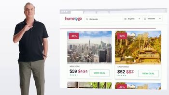 HomeToGo TV Spot, 'Outtakes' Featuring Chris Noth - Thumbnail 5