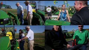 John Deere Drive Green Demo Days TV Spot, 'Your Chance to Test Drive' - Thumbnail 1