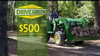 John Deere Drive Green Demo Days TV Spot, 'Your Chance to Test Drive' - Thumbnail 4