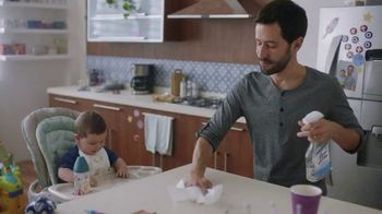 Lysol Daily Cleanser TV Spot, 'Where You Clean the Most'