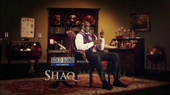 Gold Bond Men's Essentials Body Powder TV Spot, 'Shaq Wisdom: Sprinkle' - Thumbnail 2