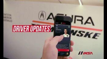 IMSA App TV Spot, 'Fan Experience' - Thumbnail 4
