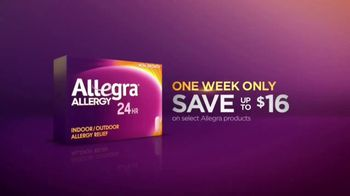 Allegra TV Spot, 'Basketball: Continuous Relief' - Thumbnail 10
