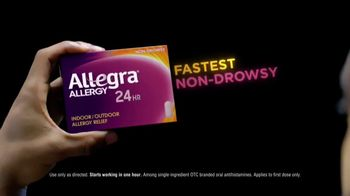 Allegra TV Spot, 'Basketball: Continuous Relief' - Thumbnail 4
