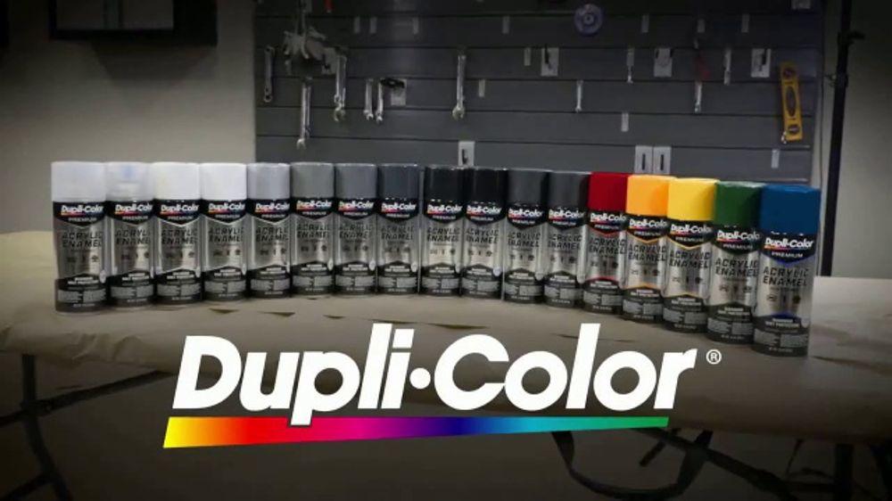 Dupli-Color Acrylic Enamel TV Commercial, 'Professional Looking Finish'