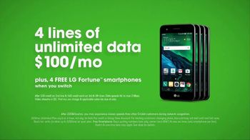 Cricket Wireless Unlimited Data TV Spot, 'Hair' - Thumbnail 9