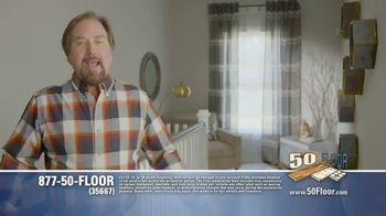 50 Floor TV Spot, 'Free Installation' Featuring Richard Karn - Thumbnail 1