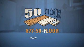 50 Floor TV Spot, 'Free Installation' Featuring Richard Karn - Thumbnail 10