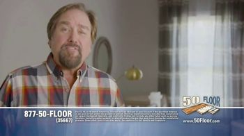 50 Floor TV Spot, 'Free Installation' Featuring Richard Karn - Thumbnail 2