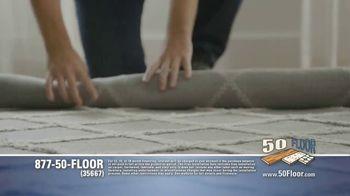50 Floor TV Spot, 'Free Installation' Featuring Richard Karn - Thumbnail 5