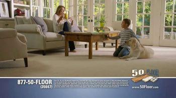 50 Floor TV Spot, 'Free Installation' Featuring Richard Karn - Thumbnail 6