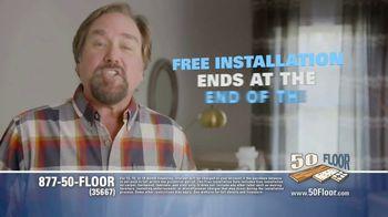 50 Floor TV Spot, 'Free Installation' Featuring Richard Karn - Thumbnail 7