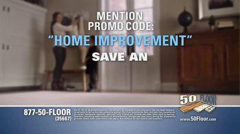 50 Floor TV Spot, 'Free Installation' Featuring Richard Karn - Thumbnail 8