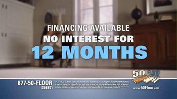 50 Floor TV Spot, 'Free Installation' Featuring Richard Karn - Thumbnail 9