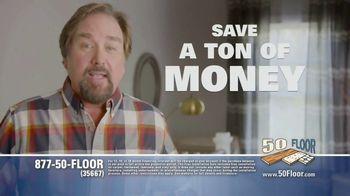 50 Floor TV Spot, 'Free Installation' Featuring Richard Karn