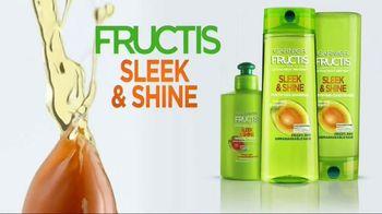 Garnier Fructis Sleek & Shine TV Spot, 'No Parabens' Song by Bruno Mars - Thumbnail 9