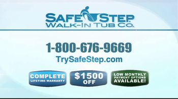 Safe Step Walk-In Tub TV Spot, 'Customer Testimonials' - Thumbnail 10