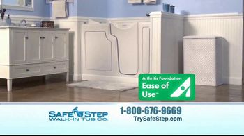 Safe Step Walk-In Tub TV Spot, 'Customer Testimonials' - Thumbnail 3