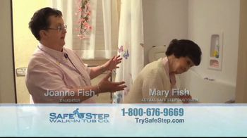 Safe Step Walk-In Tub TV Spot, 'Customer Testimonials' - Thumbnail 4
