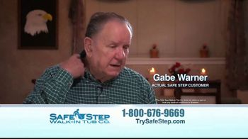 Safe Step Walk-In Tub TV Spot, 'Customer Testimonials' - Thumbnail 5