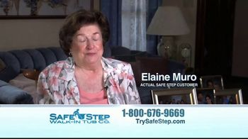 Safe Step Walk-In Tub TV Spot, 'Customer Testimonials' - Thumbnail 7