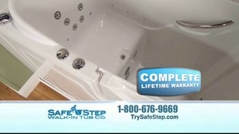 Safe Step Walk-In Tub TV Spot, 'Customer Testimonials' - Thumbnail 8