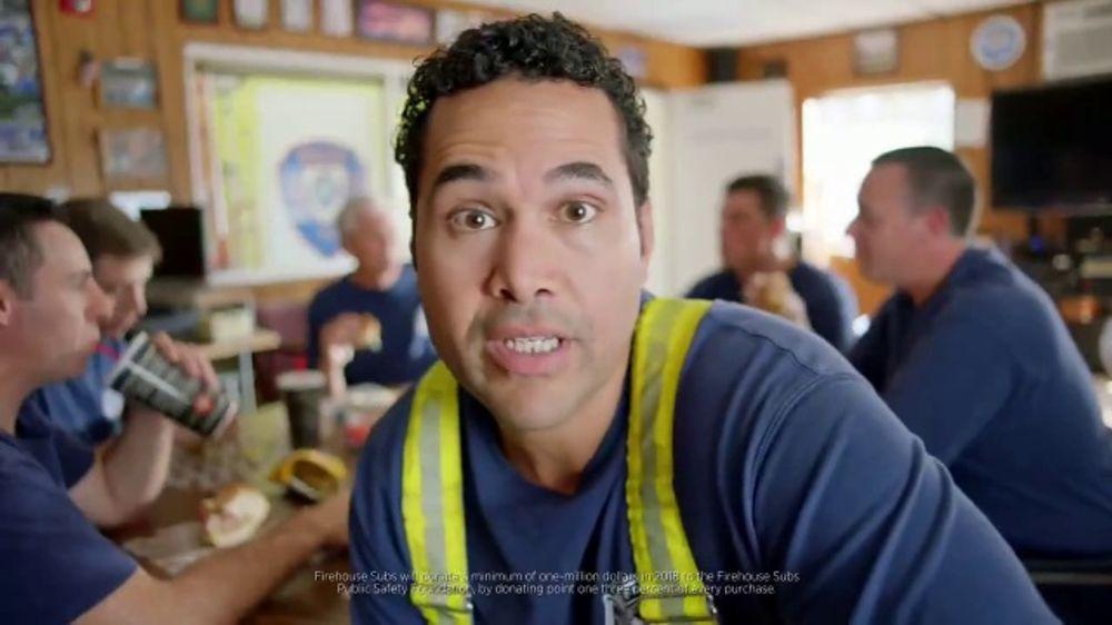 Firehouse Subs Firehouse Pub Steak TV Commercial, 'Life-Saving Equipment'
