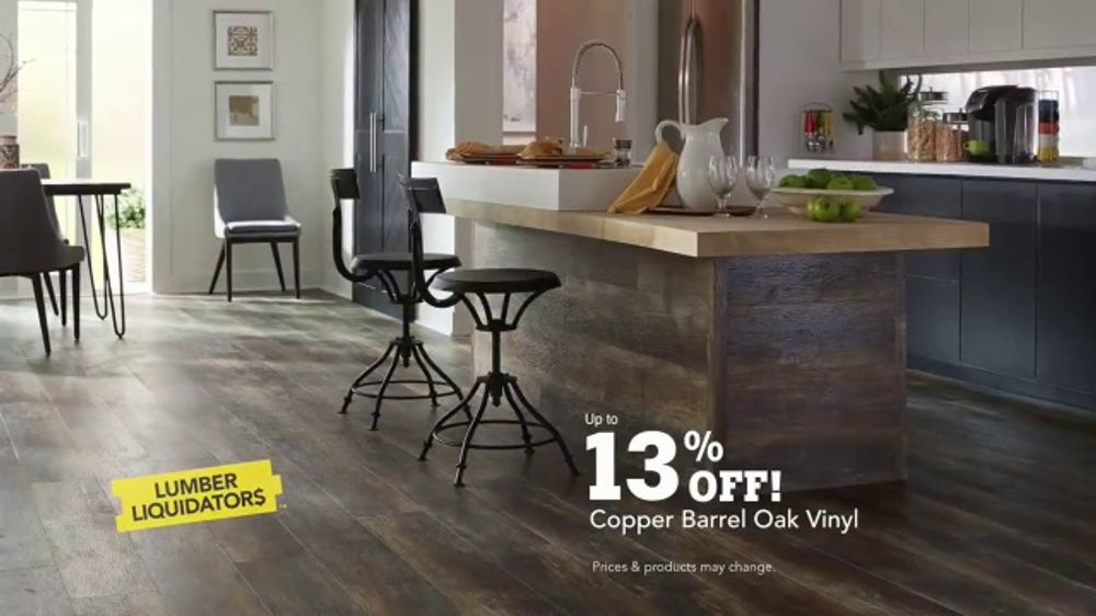 Lumber Liquidators Waterproof Flooring TV Commercial, 'Worry Proof Floors!'