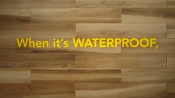 Lumber Liquidators Waterproof Flooring TV Spot, 'Worry Proof Floors!' - Thumbnail 1